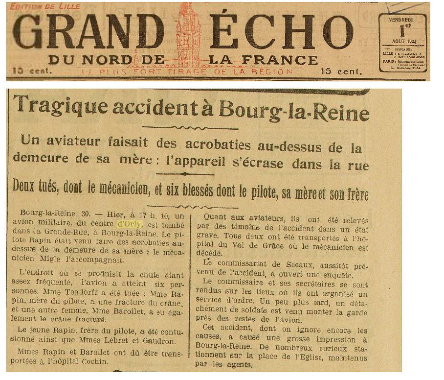 01/08/24 Grand Echo du Nord de la France