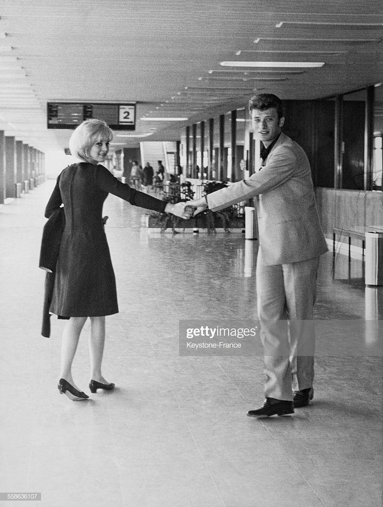 Johnny Hallyday - Sylvie Varta - 1963