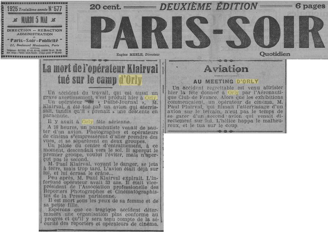 05/05/25 - Paris-Soir