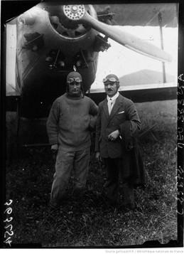 Delmotte et Caspard sur Caudron numéro 3 © BNF