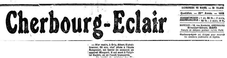 15/03/22 Cherbourg-Eclair