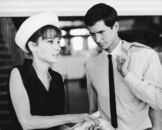 Audrey Hepburn - Anthony Perkins - 28076