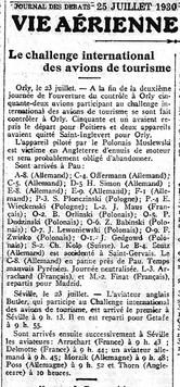 25/07/30 Journal des Débats