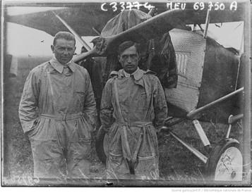 Orly : concours international d'avions de tourisme : Donati (Guglielmotti ?) : [photographie de presse] / Agence Meurisse 1929