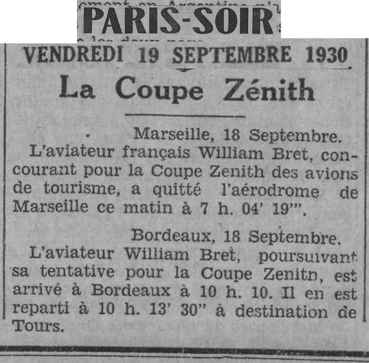 19/09/30 Paris Soir