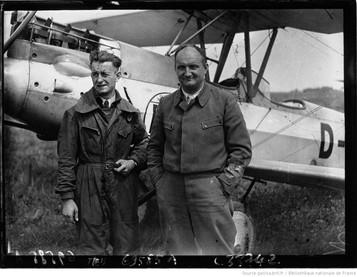 Orly : concours d'avions de tourisme : Ziegler et Topp : [photographie de presse] / Agence Meurisse 1929