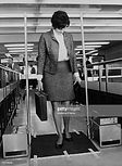 Demonstration Of Twa Anti Hijacking System In Orly Airport On April 15Th 1970