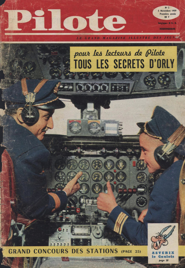 Pilote, numéro 2 - 05/11/59
