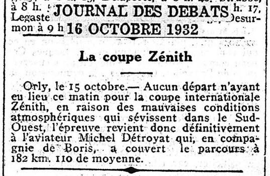 16/10/32 Journal Des Debats
