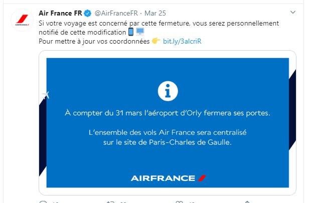 25/03/20 - Twitter Air France