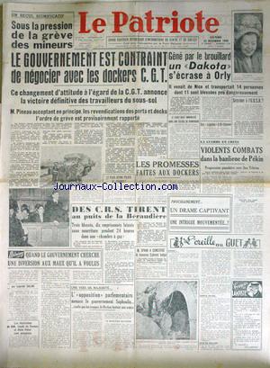 22/11/48 - Journal Le Patriote