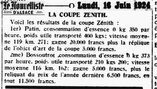 16/06/24 Le Nouvelliste d'Alsace