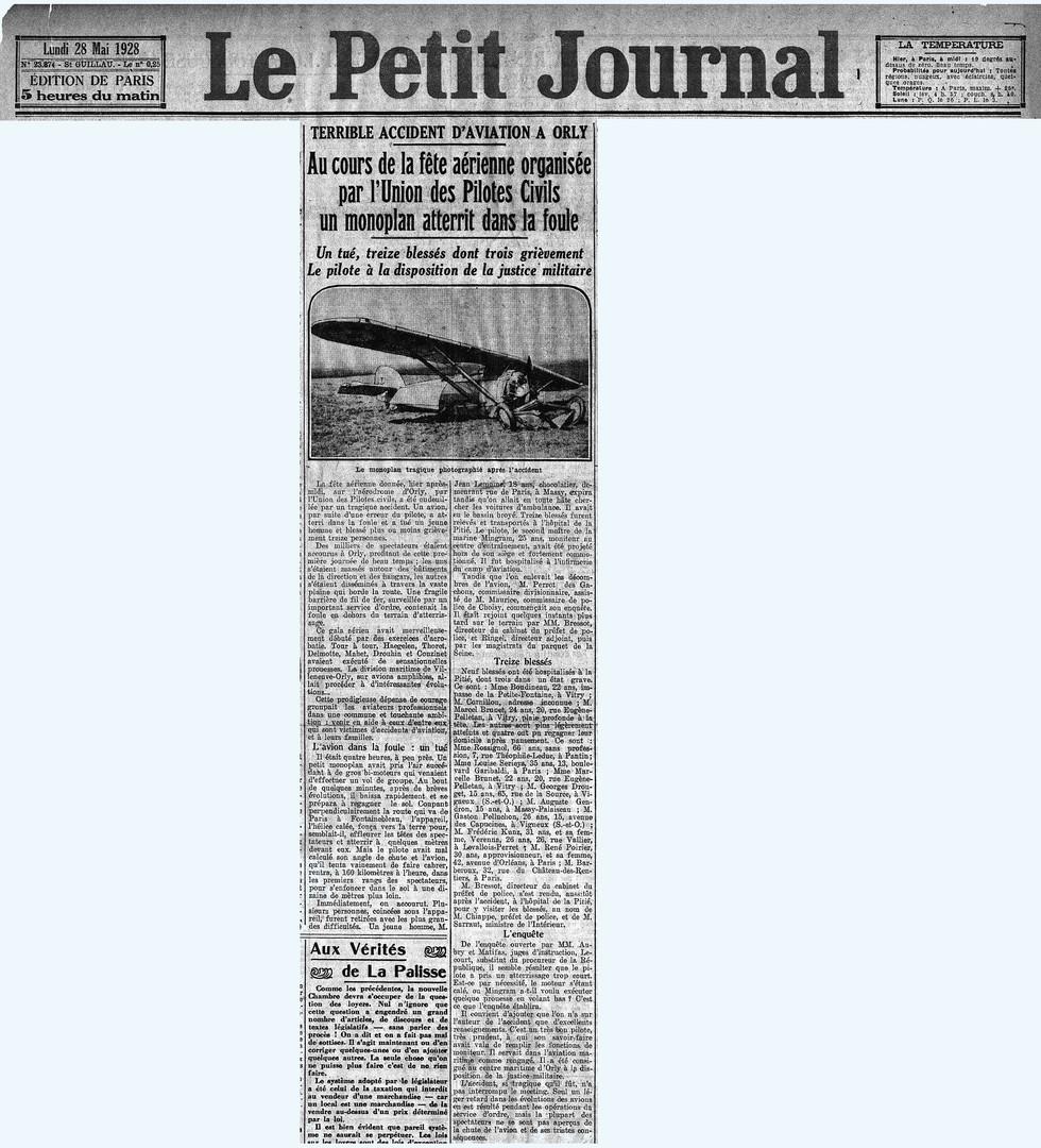28/05/28 - Le Petit Journal
