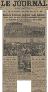 26 avril 1931 - Quotidien Le Journal (1/2)