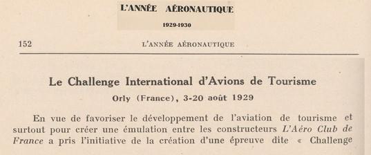 1929-1930 L'Année Aéronautique