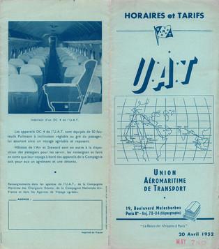 UAT - 20 avril 1952