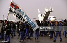 Grève Air France Orly 1995