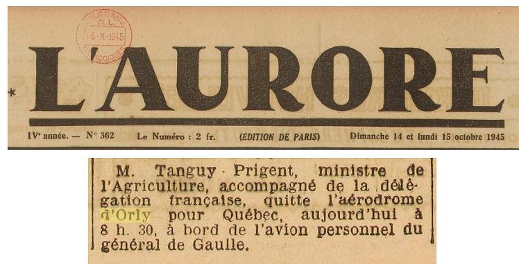 1945 - 14 octobre - Tanguy
