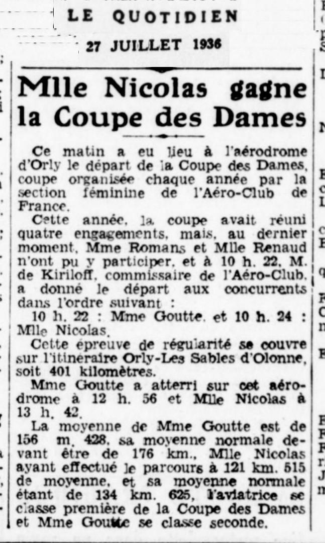 27/07/36 Le Quotidien