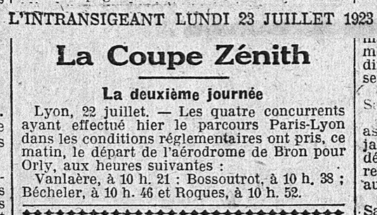 23/07/23 L'Intransigeant