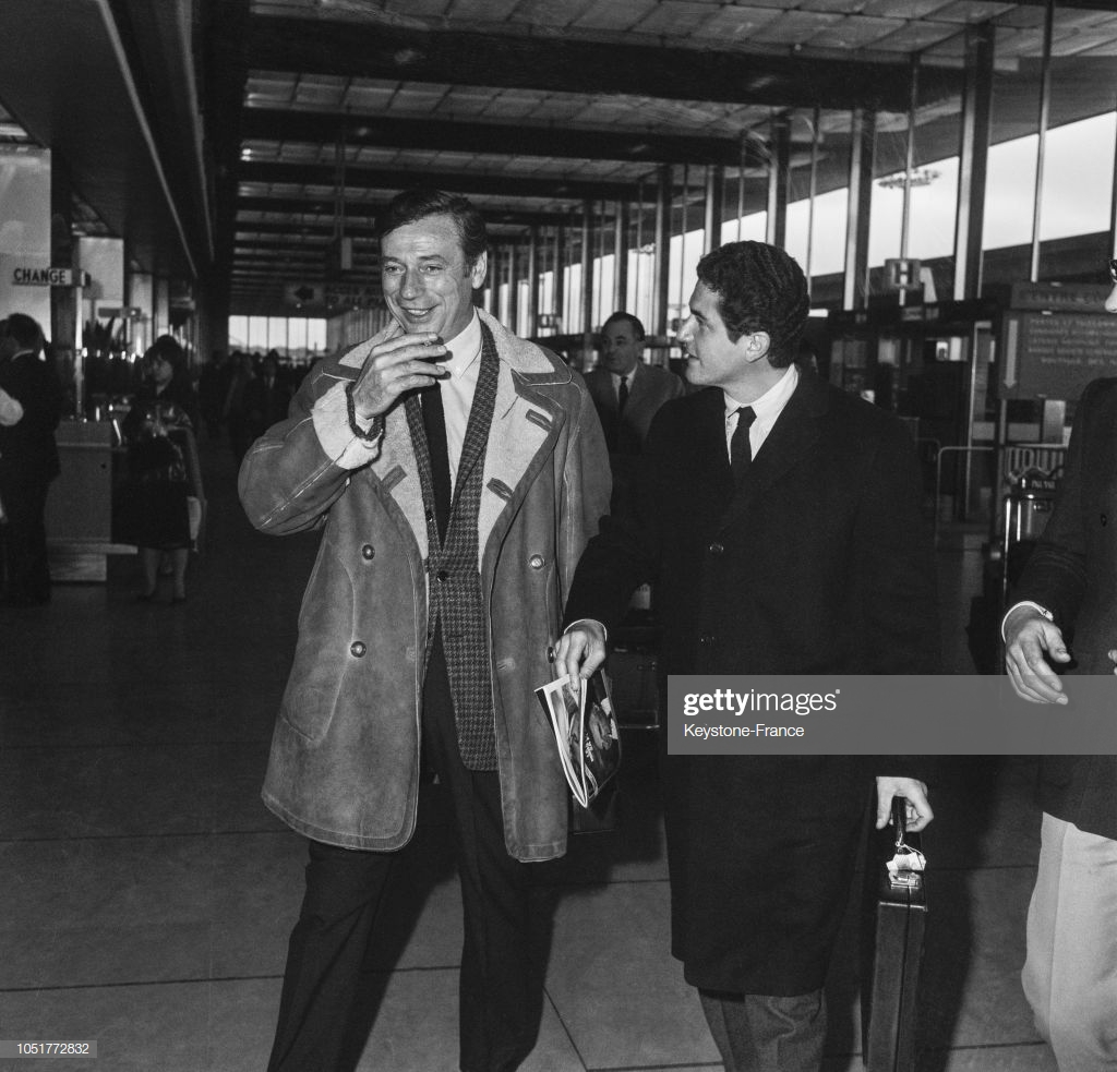 Yves Montand - Claude Lelouch - 170267
