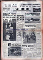 Lingots d'or - Ory 05/04/58
