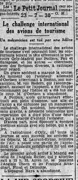 23/07/30 Le Petit Journal