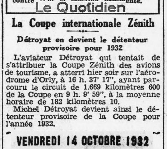 14/10/32 Le Quotidien
