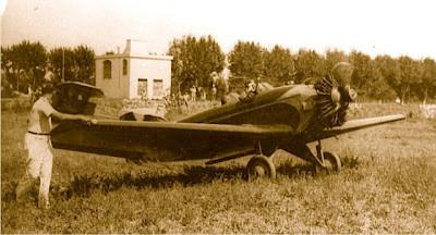 Maurice Arnoux second de la Coupe Dunlop 1931 dans son Farman 234 F-ALLY ©Jacques Hémet