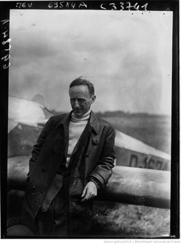 Orly : concours d'avions de tourisme : Von Dungem : [photographie de presse] / Agence Meurisse 1929