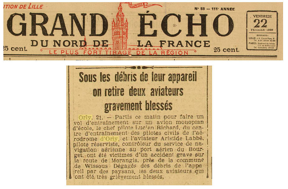 22/02/29 Grand Echo du Nord de la France