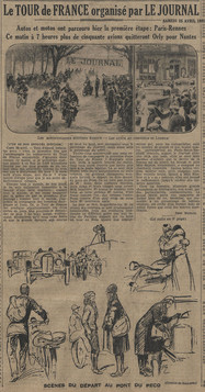25 avril 1931 - Quotidien Le Journal (1/2à