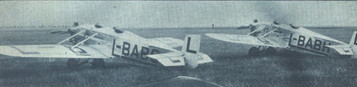"Letec magazine, volume V, issue 9, page 484, September1929 The two Avia BH-11 aircraft, with Walter Vega engines, taking part in the ""Challenge International de Tourisme"", 1929."