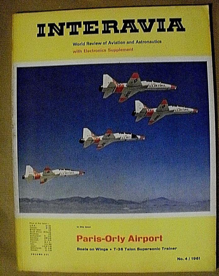 Interavia, numéro Avril 1961