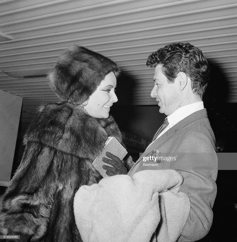 Elizabeth Taylor Eddie Fisher 1962
