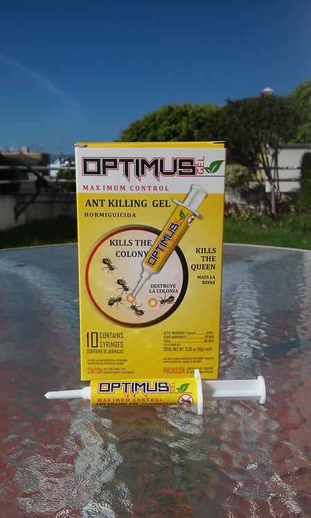 Optimus Gel Hormigas Caja