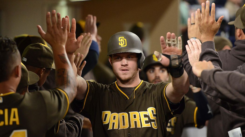 Wil Myers in the best Padres colors