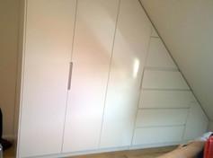 Angled storage