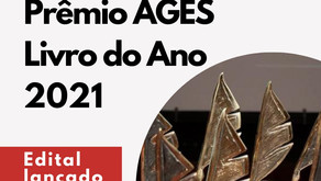 Prêmio AGES Livro do Ano 2021 - Edital lançado