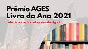 Prêmio AGES Livro do Ano 2021 – Confira as obras homologadas