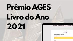 Prêmio AGES Livro do Ano 2021 – Inscrições Abertas