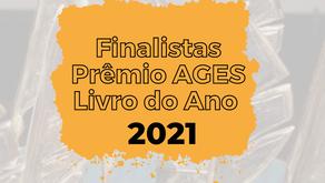 Confira os finalistas do Prêmio AGES Livro do Ano 2021