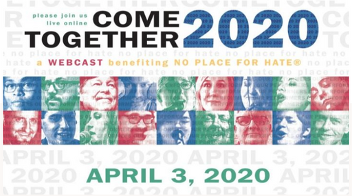 Come Together for No Place for Hate