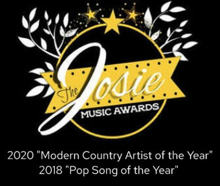 The Josie Music Awards Pigeon Forge Tennessee Modern Country Artist of the Year Pop Song of the Year Leah Marie Fuls