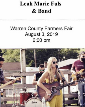 Warren County Farmer's Fair Leah Marie Fuls Band