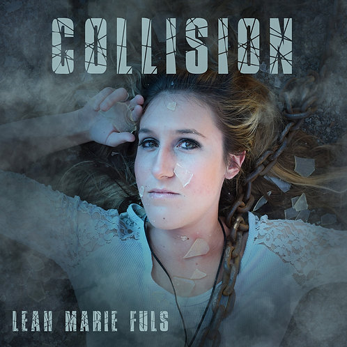 Collision Poster Blue