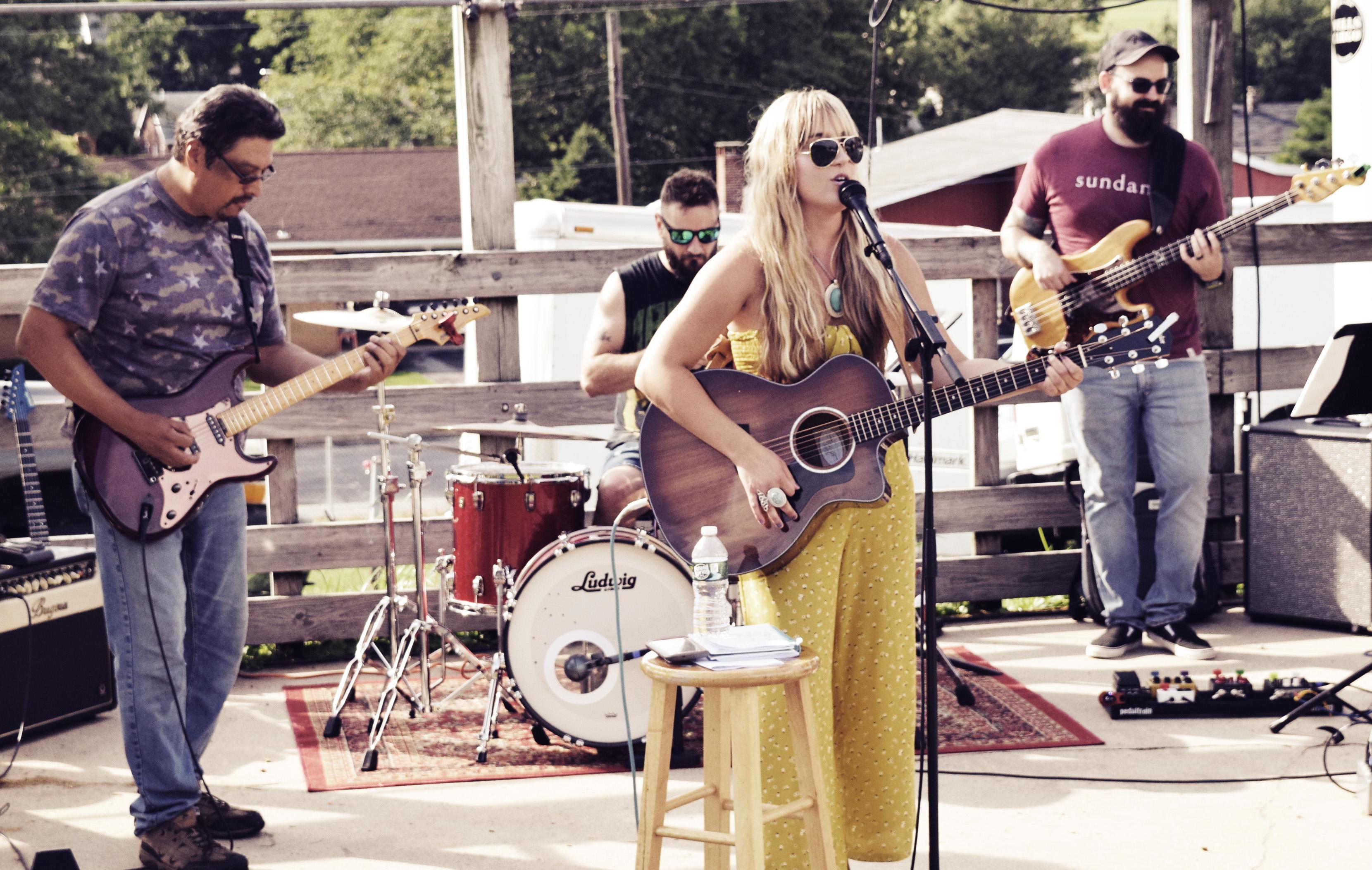 Leah Marie Fuls Band at Kutztown
