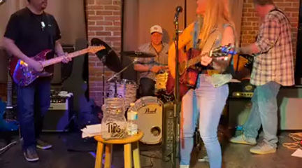 Leah Marie Fuls Band Playing American Girl by Tom Petty