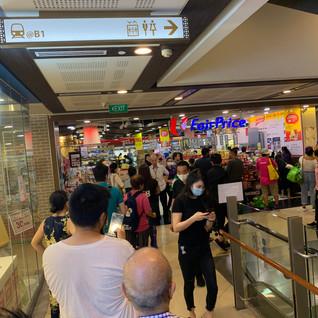 A snapshot of life before circuit breaker measures in Singapore