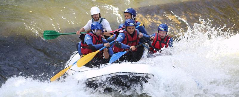 Rafting sur l'Aude en entreprise près de Toulouse et Montpellier